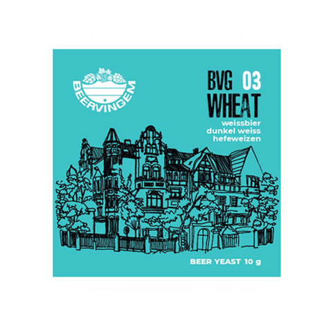 Дрожжи Beervingem Wheat BVG-03, 10 г
