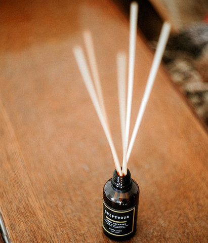 Диффузор ароматический с палочками Хлопковое дерево, Banka home