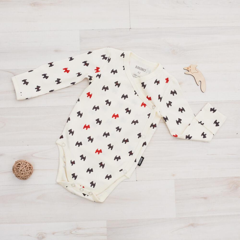 Боди-кимоно «Собачки»