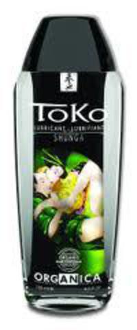 Вагинальная смазка для секса на водной основе Shunga ТОКО серии Органика 165 МЛ.