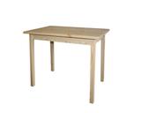 Стол обеденный из массива сосны, столешница 900х600 мм