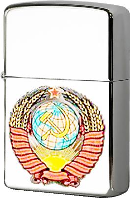 Зажигалка Zippo №250 Герб СССР