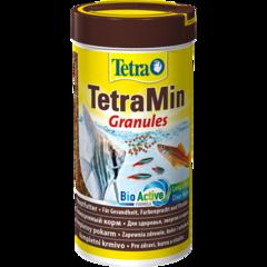 Tetra Min Granules корм для всех видов тропических рыб в гранулах