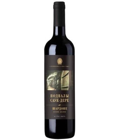 Вино Подвалы Саук-Дере, Шардоне, 0.75 л