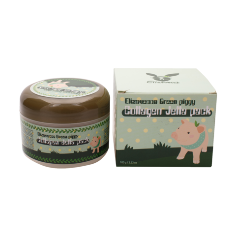 Гелевая коллагеновая маска Green Piggy Collagen Jella Pack, 100 мл