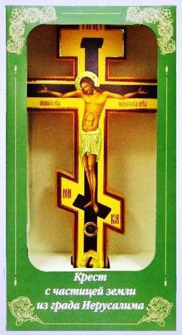 Крест с частицей земли из града Иерусалима