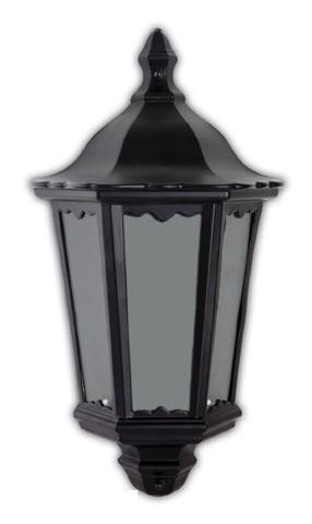Светильник садово-парковый, 60W 220V E27 черный , IP44 , 6206 (Feron)