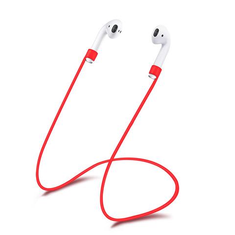 Шнурок для airpods (красный)