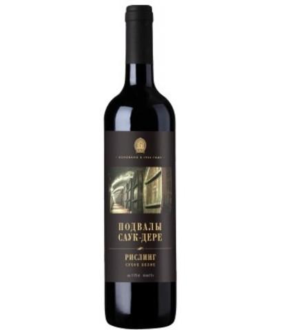 Вино Подвалы Саук-Дере Рислинг, 0.75 л