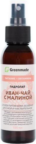 Гидролат ИВАН-ЧАЙ с МАЛИНОЙ Greenmade