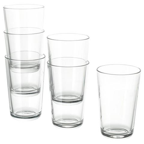 ИКЕА/365+ Стакан прозрачное стекло