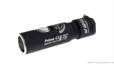 Фонарь Armytek Prime C1 Pro v3 XP-L (Белый диод). Серебро.