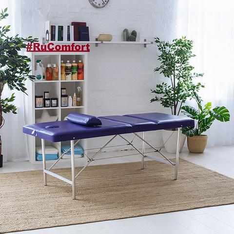 Складной массажный стол RuComfort (180х60x75) Comfort LUX 180/75