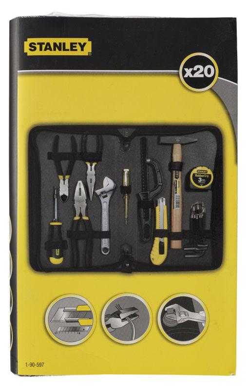 Набор инструментов 20шт   Zipper Wallet Stanley 1-90-597