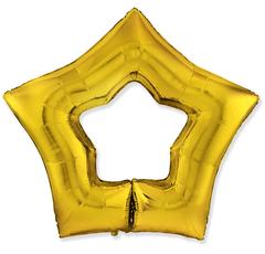F Звезда, Контур, Золото, 37