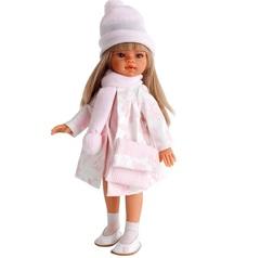 Munecas Antonio Juan Кукла Эмили, осенний образ, блондинка, 33 см (2580Bl)