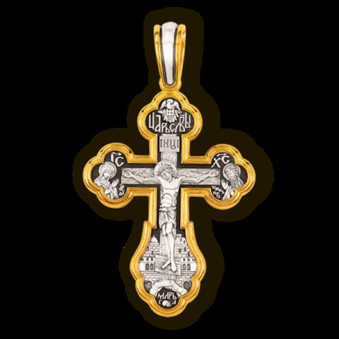 Православный крест. Ангел-Хранитель. Тихвинская икона БМ.  Александр Невский. Ксения Петербургская