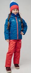 Детский утеплённый прогулочный лыжный костюм Nordski Jr-Kids Patriot