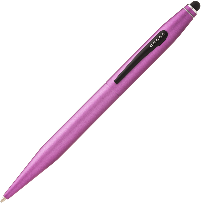 Cross Tech2 - Tender Rose, шариковая ручка со стилусом, M, BL