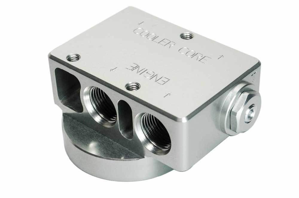 Масляный адаптер АКПП с термостатом