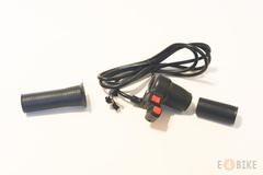 Ручка газа (под кисть) - Мото с переключателем