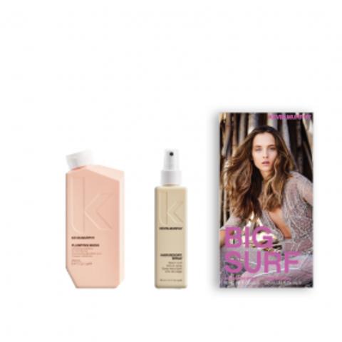 Набор Plumping Wash/Шампунь для объема и уплотнения волос+текстурирующий спрей