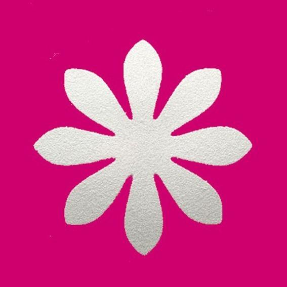 Фигурный дырокол 25 мм (розовый).