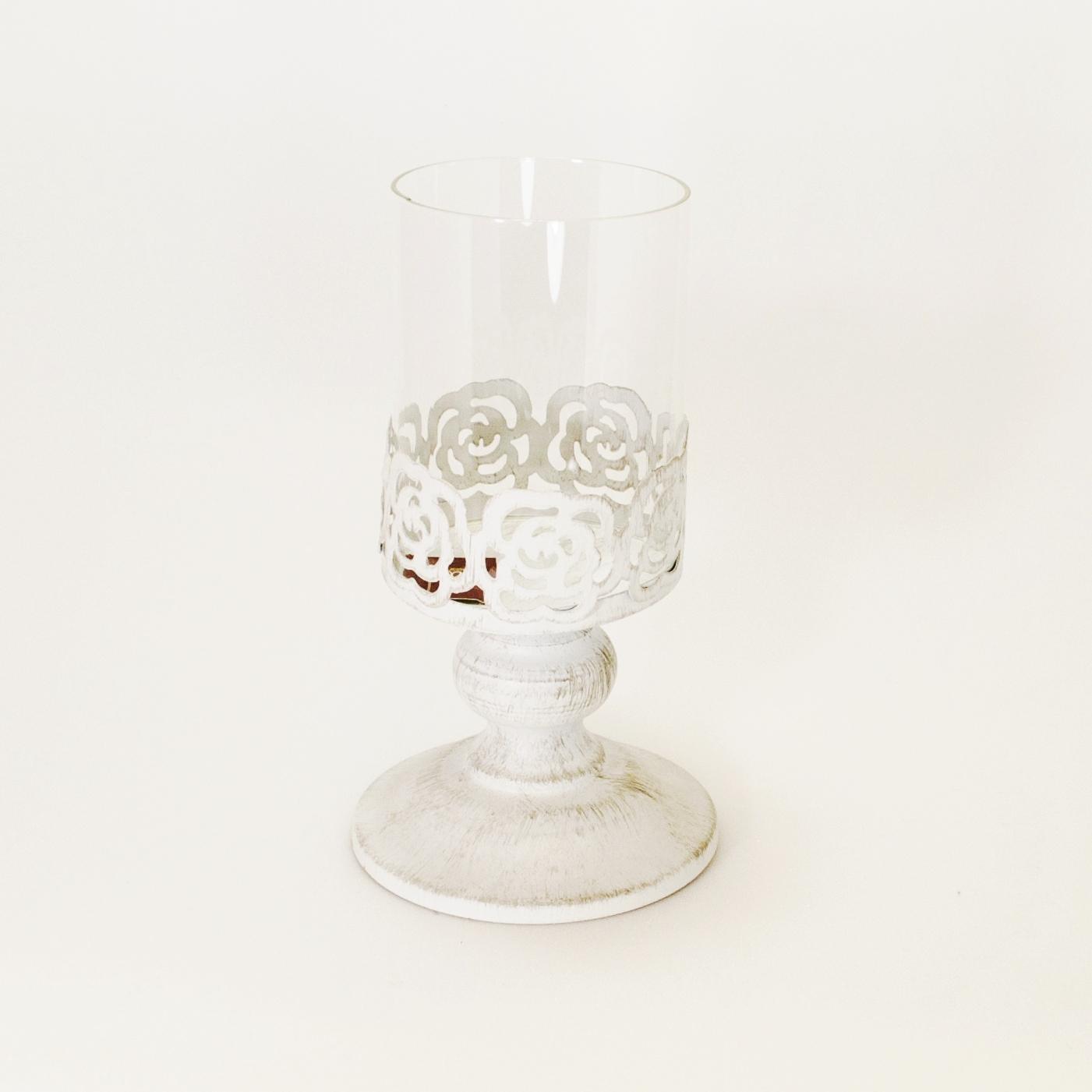 Dekoratief Подсвечник маленький со стеклом (Мебель и предметы интерьера)