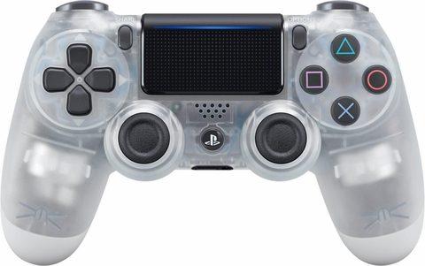 Sony PS4 Беспроводной контроллер DualShock 4 (Crystal, 2ое поколение)