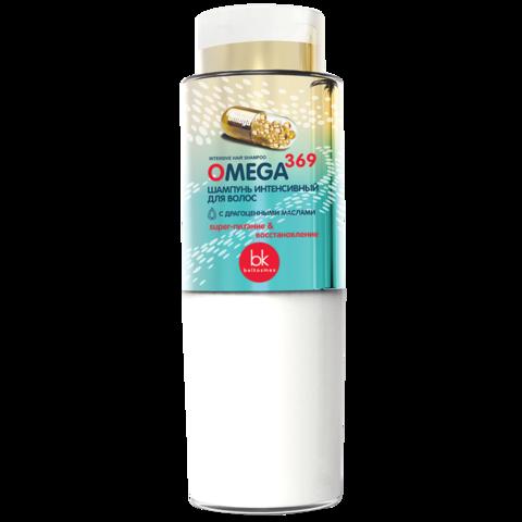 BelKosmex OMEGA 369 Шампунь интенсивный для волос 400 мл