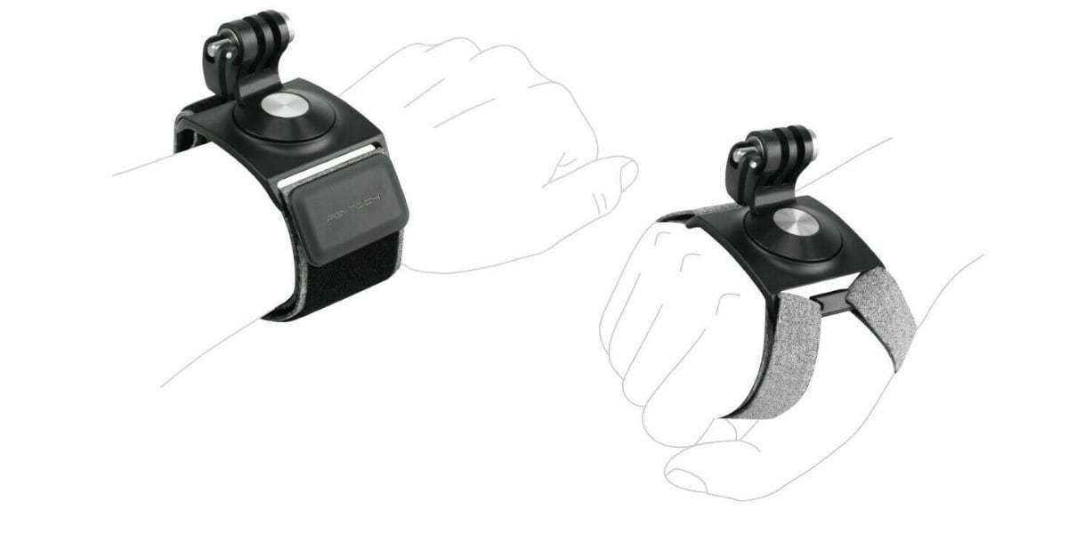 Крепление на руку PGYTECH Action Camera Hand and Wrist Strap P-18C-024 схема