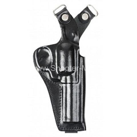 Оперативная кобура для револьвера Гроза Р-04 вертикальная ( модель № 20 ) Стич Профи