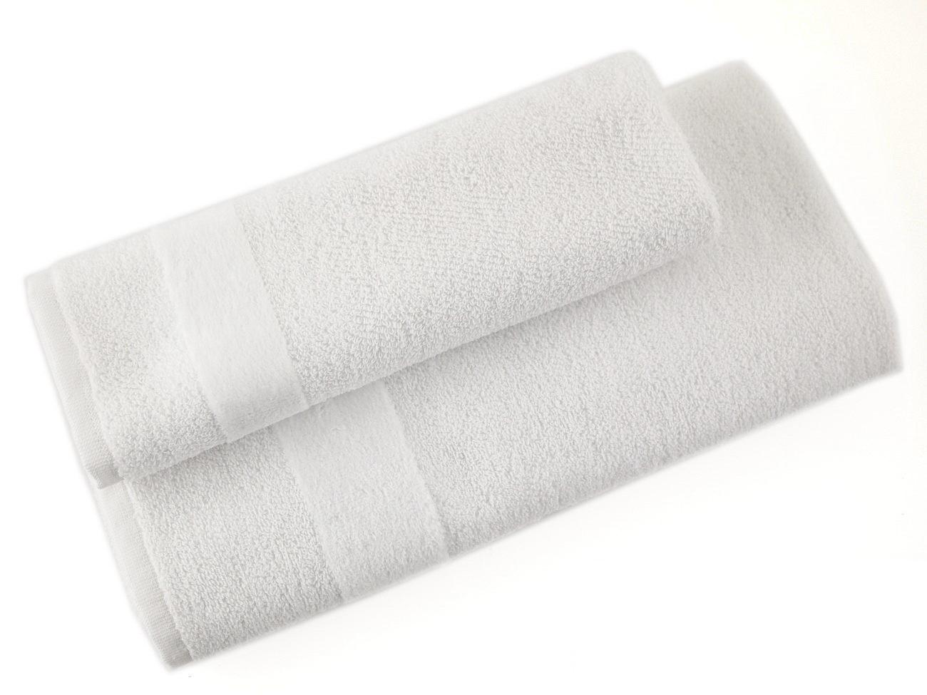 Набор полотенец 3 шт Carrara Fyber белый