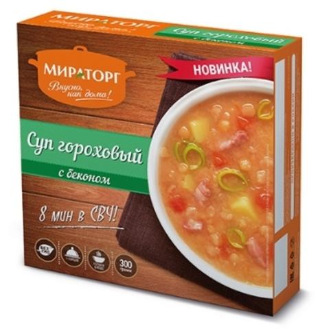 """Суп гороховый с беконом """"Мираторг"""" 300 г"""