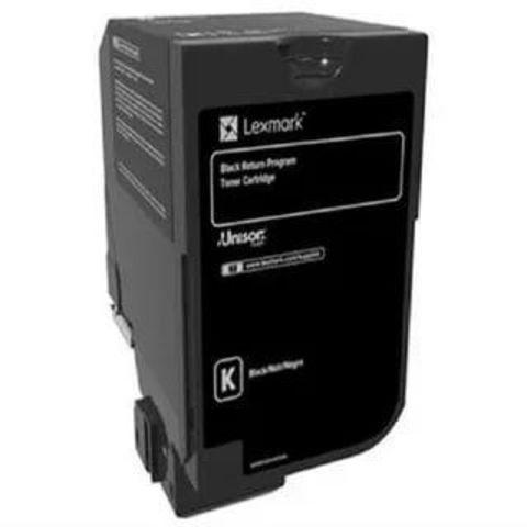 Тонер-картридж для принтеров Lexmark CS720, CS725, CX725 черный (black). Ресурс 3000 стр (74C50K0)