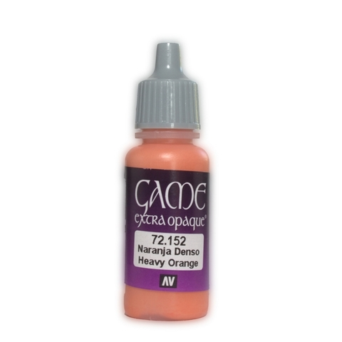 Game Color Heavy Orange 17 ml.