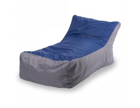 Кресло-мешок «Кушетка» Серо-синий