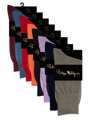 Мужские носки PHM 701 Cotton Mercerized Philippe Matignon