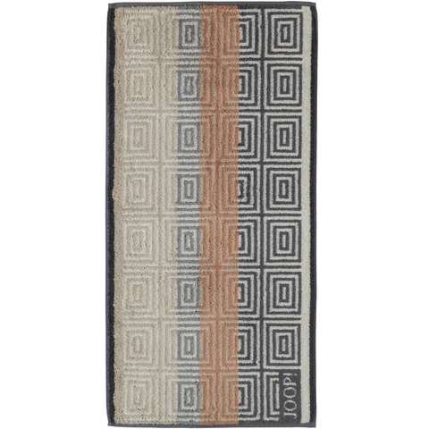 Полотенце 50x100 Cawo-JOOP! Imperial Striped Tile 1640 серое