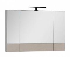 Зеркало-шкаф Aquanet Нота 100 дуб светлый