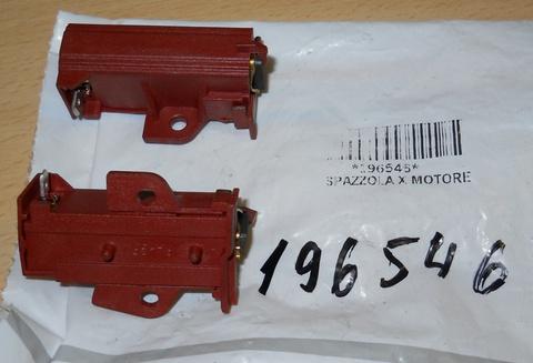 Комплект щеток для электродвигателя стиральной машины Indesit (Индезит)/ Ariston (Аристон)  - 196546