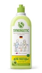 Жидкость для мытья посуды, SYNERGETIC, яблоко, 500 мл.