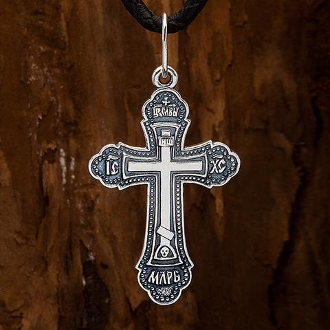 Крестик православный. Спаси и сохрани.