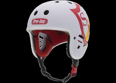 Шлем Pro-Tec Full Cut Cert S&M (белый)