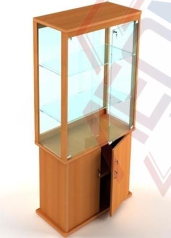 ВМН-800 Витрина музейная с накопителем