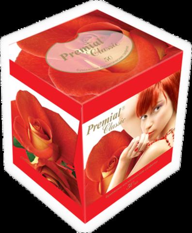 Bumfa Group Premial Салфетки косметические 3-х слойные в коробке (Нон стоп) 50шт