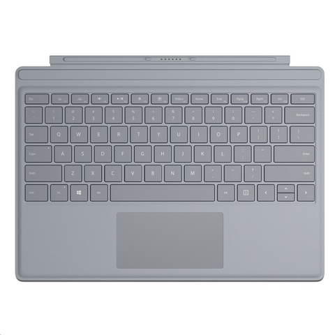 Клавиатура Microsoft Surface Pro Signature Type Cover (Platinum)