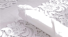 Салфетки 45х45 Weissfee Paradise белые