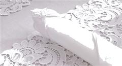 Набор салфеток 6 шт Weissfee Paradise белые