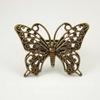 Основа для кольца с филигранной бабочкой  31х25 мм (цвет - античная бронза)